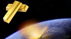 L'oro potrebbe provenire dallo spazio remoto
