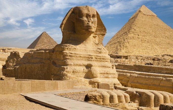 La Sfinge e le piramidi furono probabilmente sommerse dal mare