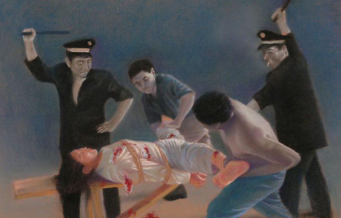 Le terribili torture sessuali alle donne perseguitate in - Famoso letto di tortura ...