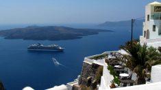 Il lusso del Kapari resort a Santorini