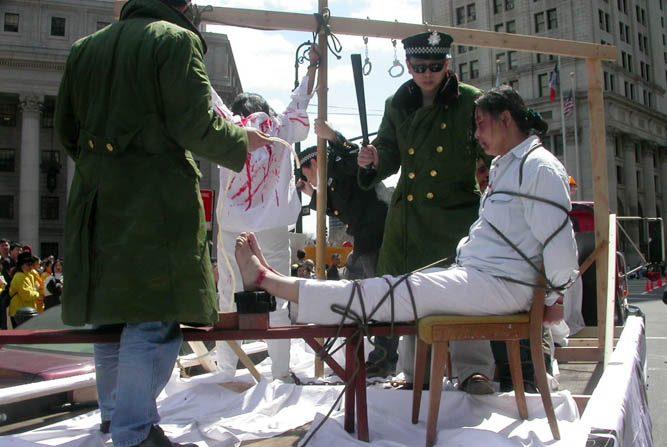 Le pratiche di tortura del regime cinese