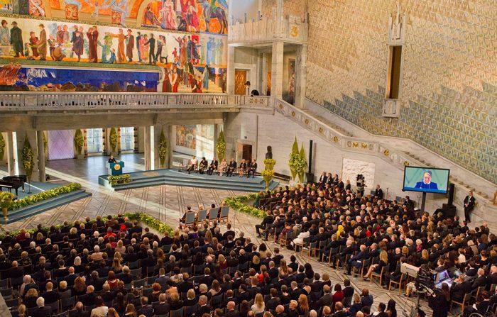 Nobel 2015: consegnato anche quello per la Pace