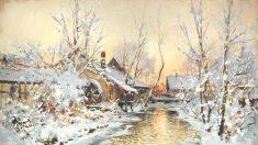 Pittura: I colori d'inverno