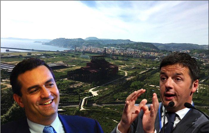 Bagnoli, Renzi e de Magistris, le «chiacchiere» e i fatti