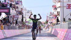 Giro 100, Izaguirre vince a Peschici. Visconti secondo in rimonta