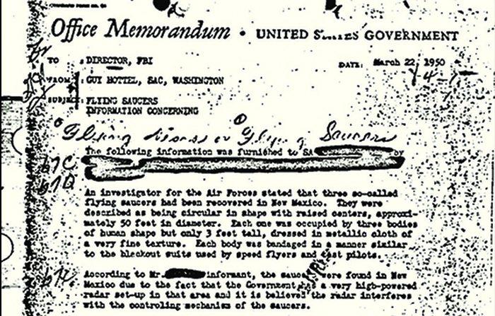 Fbi e Ufo