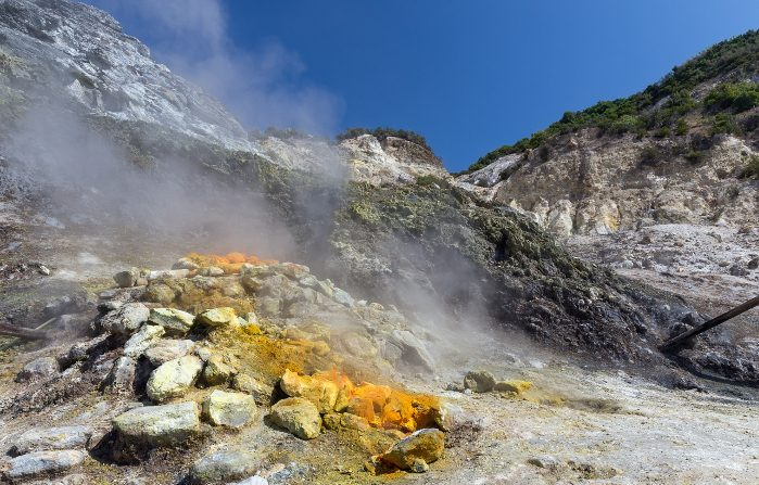 'Nuovo' vulcano sotto i Campi Flegrei