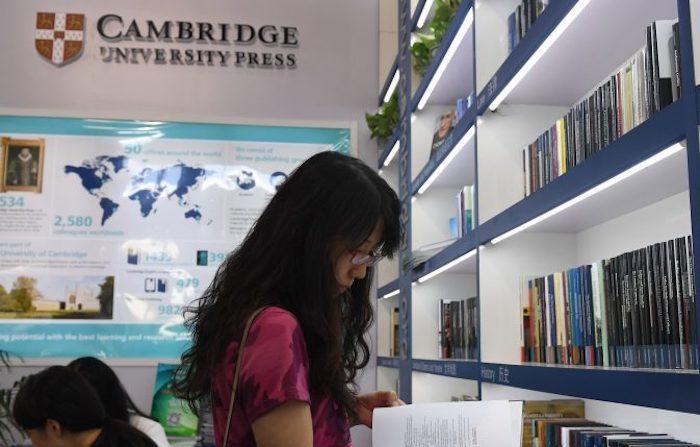 La Cambridge University Press non si piega alla censura del Pcc