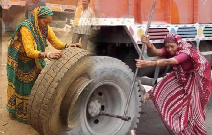 Una filosofia di vita fa diventare una donna l'unica 'meccanica indiana'