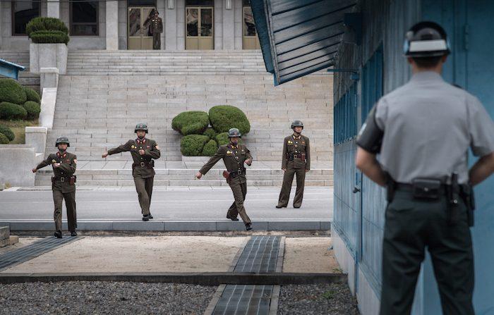 Soldato nordcoreano ferito mentre 'diserta'