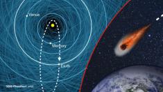 Fetonte il titanico asteroide che sfiorerà la Terra prima di natale