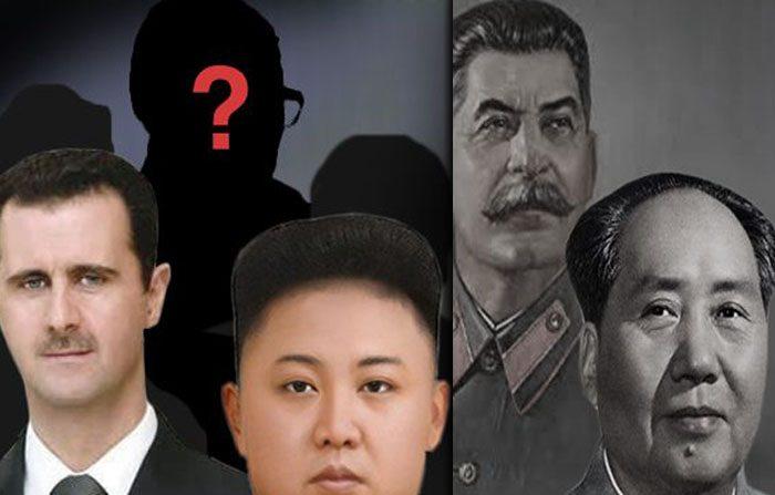I colpevoli delle cinque peggiori dittature contemporanee