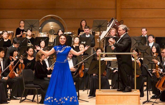 Il canto del soprano di Shen Yun