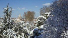 Neve a Roma, le foto della Capitale imbiancata