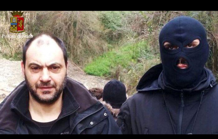 Bunker della 'ndrangheta scoperto a Rosarno dalla polizia