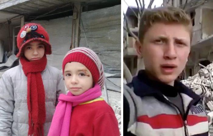 I bambini giornalisti della guerra in Siria