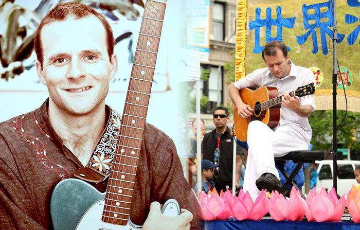 Un chitarrista virtuoso ci ricorda che l'arte viene da un cuore puro
