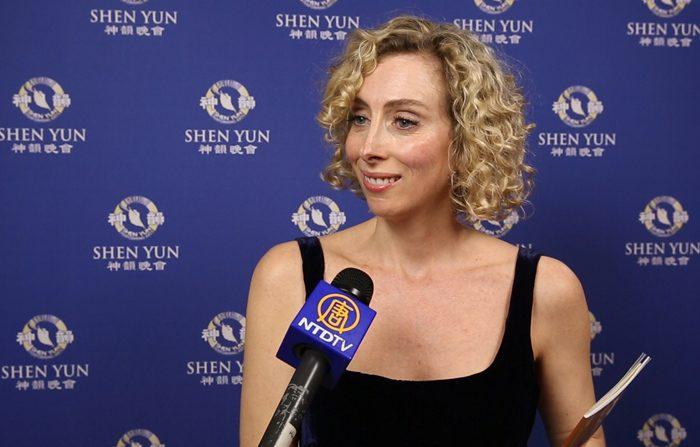L'attrice Olimpia Marmoross su Shen Yun: «Perfezione artistica»