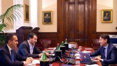 Conte da Salvini e Di Maio: squadra fatta