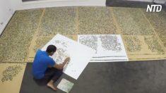Un puzzle di 33.600 pezzi, risolto in 6 mesi