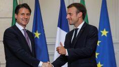 Conte 'fa pace' con Macron e incassa il sostegno degli Stati Uniti