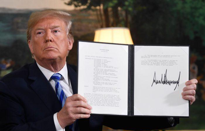 Trump avverte l'Iran: «Non minacciate più gli Usa o ne pagherete le conseguenze»