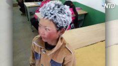 La verità sul bambino cinese dai capelli congelati