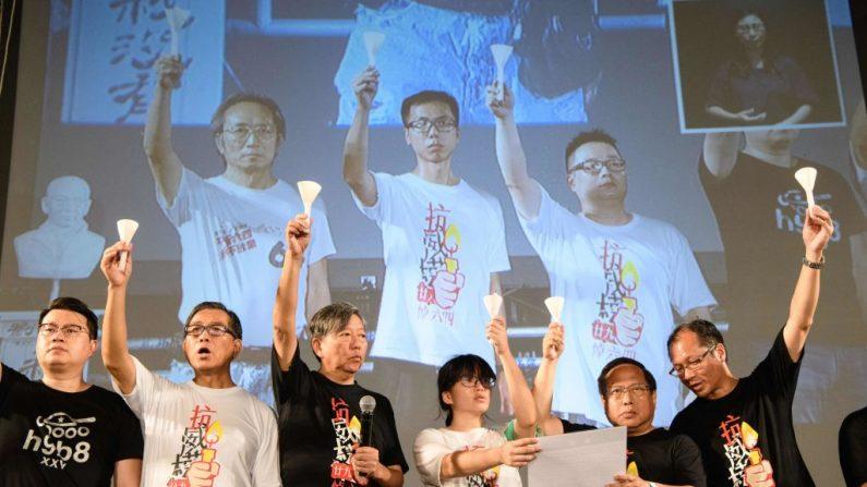 Manifestazione per la democrazia a Hong Kong