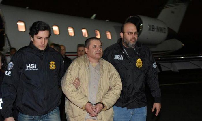 Processo di massima sicurezza per il signore delle droga messicano 'El Chapo' Guzman
