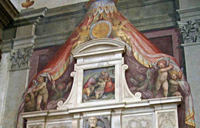 Una poesia di Michelangelo