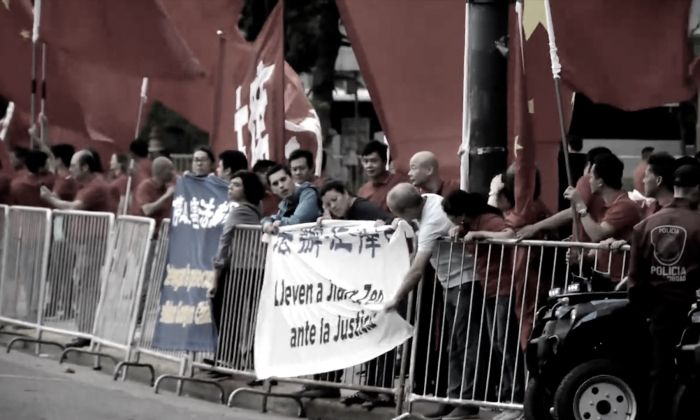 G-20 Argentina: praticanti del Falun Gong arrestati per aver protestato contro il regime cinese