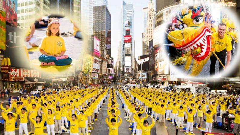 Perché le strade di New York si riempiono di magliette gialle?