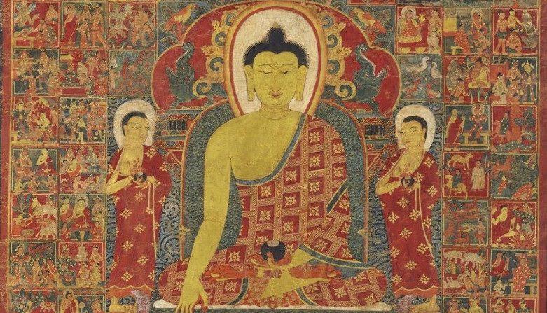 Un'antica storia cinese, i ciechi vedono Buddha