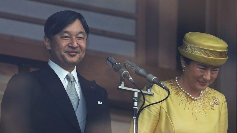Giappone, il nuovo imperatore saluta la folla: «Prego per la vostra salute e la vostra felicità»