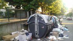 Emergenza spazzatura a Roma, continua la pulizia