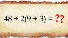 Sei capace di risolvere questo controverso quesito matematico?