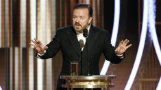 Golden Globe, il discorso di Ricky Gervais accusato di essere «di destra»