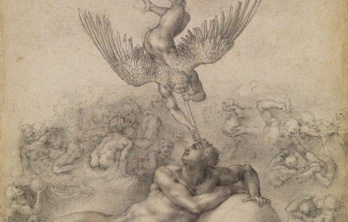 'Il sogno della vita umana' di Michelangelo