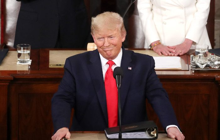 Usa, Stato dell'Unione: Trump enfatizza i risultati economici