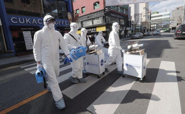 Storia del coronavirus in Corea del Sud