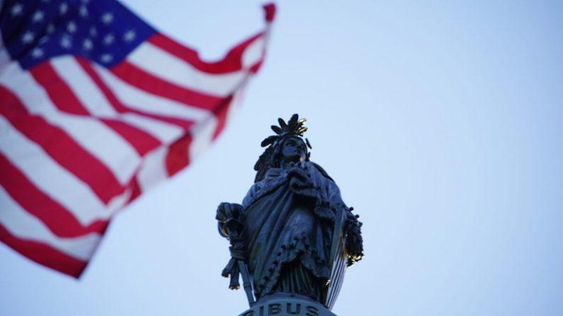 Usa, bandiera americana sventola in onore dei praticanti del Falun Gong