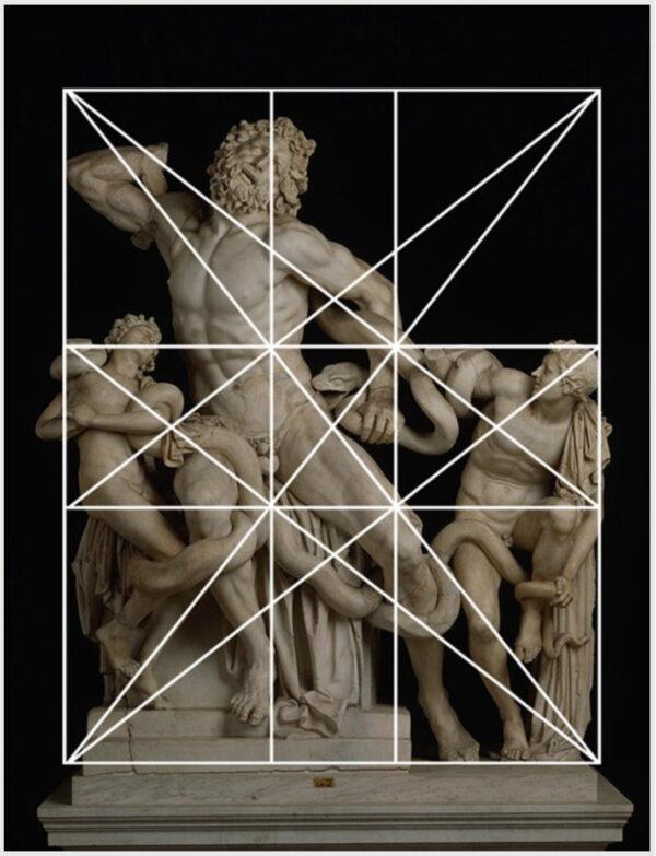 Lacoonte e i suoi figli: la famosa scultura greca rappresenta al meglio il principio della simmetria dinamica