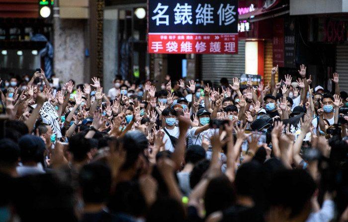 Parla 'Capelli Lunghi', l'attivista per la democrazia di Hong Kong