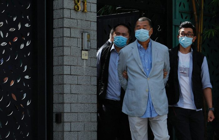 Arrestato Jimmy Lai, magnate della stampa di Hong Kong