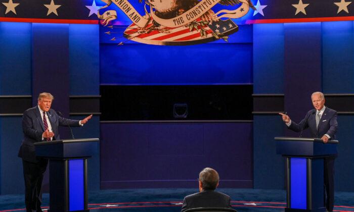 Cronaca del primo dibattito pre-presidenziali tra Trump e Biden