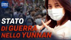 Cina, nuovo lockdown nello Yunnan | Lavori forzati nelle carceri | Giudice di Hong Kong si dimette