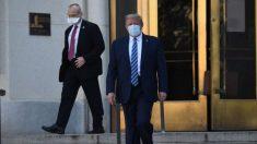 Donald Trump lascia l'ospedale e torna alla Casa Bianca