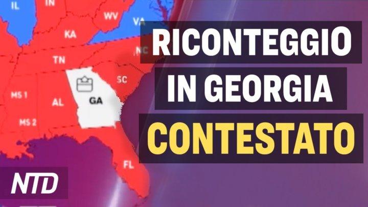 Video: Elezioni americane, emerse nuove anomalie in Georgia e Michigan
