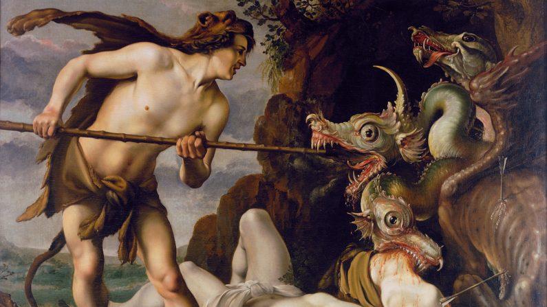 Cadmo e il drago, un dialogo col Divino ancora attuale