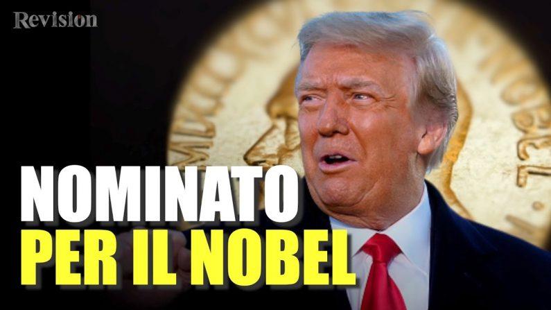Video: Trump candidato al Nobel per la pace 2021